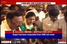 Rift within DMK, 3 MPs take part in Alagiri's birthday celebrations