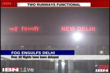 Heavy fog envelops Delhi, IGI airport temporarily shut, train traffic hit