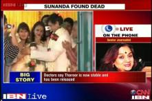 Nalini recalls her last call with Sunanda, says she was crying