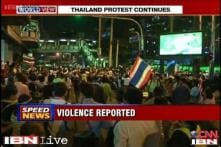 Thailand: Protesters march on new government targets