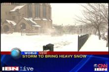 US braces itself for severe storm, 2000 flights cancelled