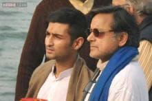 Snapshot: Husband Shashi Tharoor, son Shiv Menon immerse Sunanda Pushkar's ashes in Haridwar