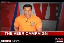 The Veer campaign: Salman reaches out to his fans for a noble cause