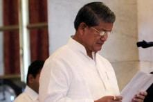 President Pranab Mukherjee accepts Harish Rawat's resignation as union minister