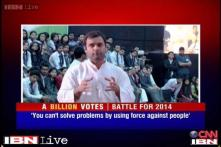 Problem cannot be solved using force against people: Rahul on AFSPA