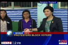 Thailand elections held amid anti-government protests
