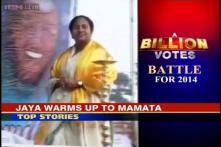 A Billion Votes: Jayalalitha calls Mamata, wishes luck for LS polls