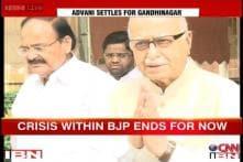 Advani calls truce, to contest from Gandhinagar