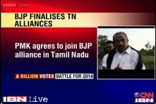 BJP improves its poll prospects in Tamil Nadu as PMK joins NDA