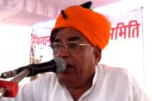 BJP's Sonaram files nomination from Barmer