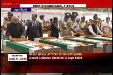 Watch: Chhattisgarh CM, HM pays tribute to Naxal attack martyrs