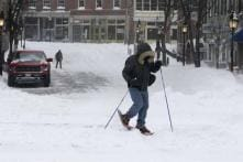 Powerful storm lashes eastern US with snow, arctic cold