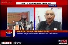 Denied Barmer ticket, Jaswant Singh takes on BJP leadership