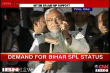 Nitish Kumar demands special status for Bihar