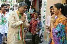 Nandan Nilekani, one of India's richest candidates, files nomination papers