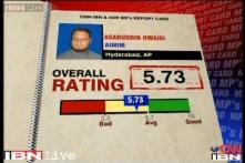 MPs Rating: Asaduddin Owaisi scores 5.7 on a scale of 10