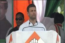BJP's Gujarat model balloon will burst soon, says Rahul Gandhi