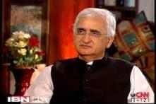 Khurshid compares Modi to a nursery student who thinks he has a PhD