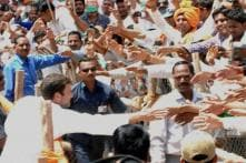 In pics: Leaders campaign for Lok Sabha elections