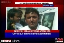 EC notice given to Azam Khan without even waiting for his reply: Akhilesh Yadav