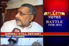 A Billion Votes: FIR against Giriraj Singh, BJP leader remains defiant
