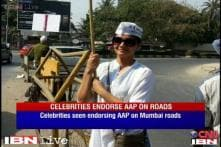 Bollywood stars campaign for AAP in Mumbai