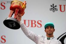 Hamilton wins third straight F1 race at Chinese Grand Prix