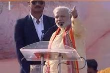 Congress leaders are not ready to listen to anyone, says Narendra Modi