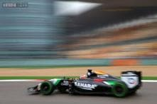 Force India's Nico Hulkenberg to start 8th at Chinese GP