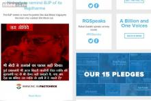 Congress puts Vajpayee's photo on website, stirs controversy