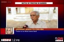 There's no Modi wave, I've got a tremendous response: Jaswant Singh