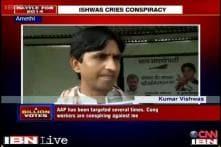 Kumar Vishwas claims threat to life, to move EC against Priyanka, Rahul
