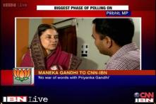 Varun contesting elections in a dignified manner: Maneka Gandhi
