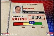 MPs Rating: Ananth Kumar scores 6.36 on a scale of 10