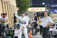 Nico Rosberg beats team-mate Lewis Hamilton to Bahrain Grand Prix pole