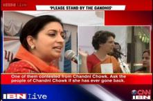 Priyanka accuses Smriti of not returning to the constituency she lost from