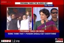 Priyanka takes a dig at BJP for giving everything to one man