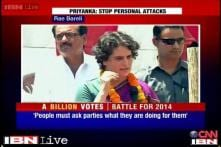 Priyanka Gandhi campaigns for Sonia, appeals to voters to reject BJP
