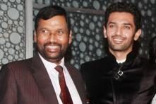 Ram Vilas Paswan campaigns for son Chirag in Jamui