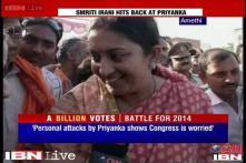 Priyanka Gandhi is a seasonal politician: Smriti Irani