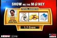 Show Me The Money: Shiv Sena's Arvind Sawant has assets worth Rs 1.7 cr
