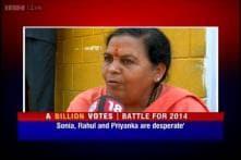 Uma Bharti admits she had misjudged Modi, calls Robert Vadra a 'thief'