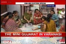 70,000 Gujaratis in Varanasi all out to ensure Modi wins elections