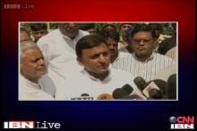 UP CM Akhilesh Yadav blames the Centre for power crisis