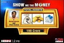 SMTM: AAP's Balakrishnan and his wife's assets worth Rs 190 crore