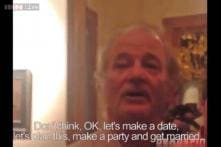 American actor Bill Murray crashed a random bachelor party and gave the greatest advice anyone has ever given to men about marriage