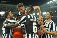 Chaos reigns before Juventus celebrate league win at Roma