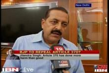 My remarks on Article 370 misquoted, says MoS Jitendra Singh