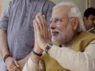 Photos: Narendra Modi seeks blessings from mother Hiraben post victory