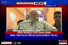 EC seeks report over Ram's picture on Modi's stage at Faizabad rally